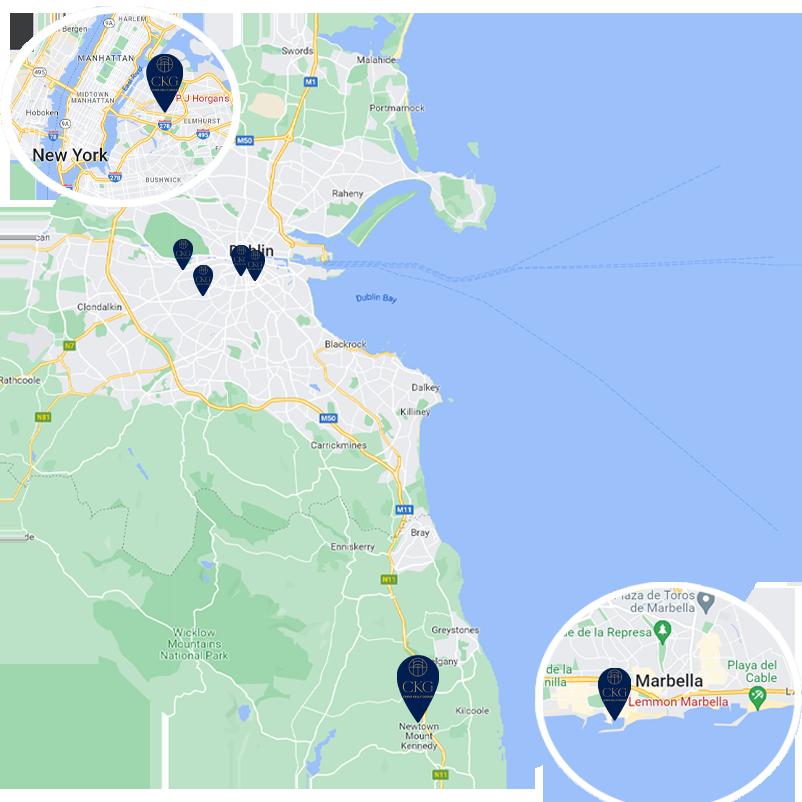 croke park dublin map